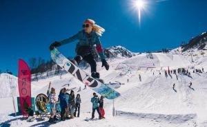 В горах Сочи выпал долгожданный снег