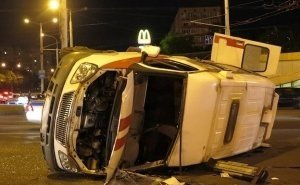 В Краснодаре за один день случилось два ДТП со «скорыми»