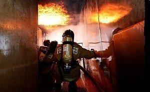 В пожаре, устроенном в краснодарской школе, подозревают 10-летнего ученика