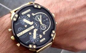 Мужские наручные часы Diesel, которые покорят вас с первого взгляда