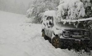 В Сочи в конце мая выпал снег