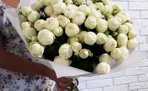 Самые популярные букеты роз этого лета