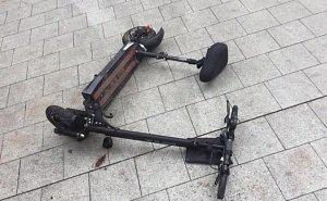В парке «Краснодар», катаясь на электросамокате, разбился мальчик