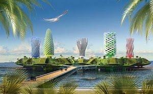 На искусственном острове в Сочи хотят построить огромный отель