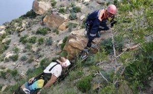 Двое туристов сорвались с Лысой горы