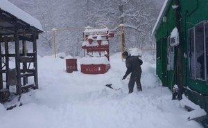 На «Розе Хутор» выпало больше 20 см снега