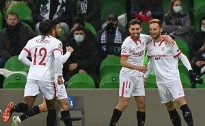 «Краснодар» со счётом 1:2 проиграл «Севилье»