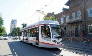 В Краснодаре обновят трамваи на 1 млрд рублей