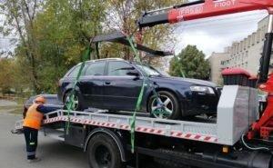 В Краснодарском крае эвакуировать машины будет специальное предприятие