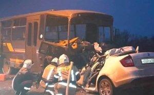 На Кубани в аварию попал автобус с призывниками