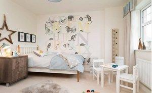 Принципы оформления дизайна для детской комнаты