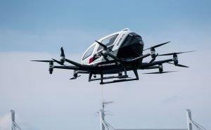 В Сочи хотят использовать беспилотное летающее такси
