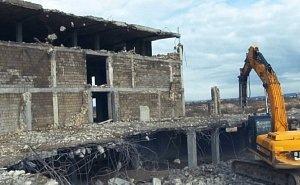 В Анапе сносят 10 самостроев
