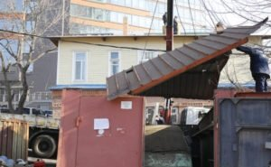 В Краснодаре места снесённых гаражей будут благоустраивать
