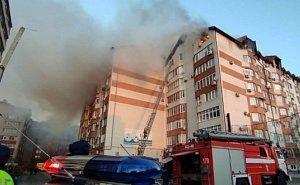 На тушение пожара в жилой многоэтажке Анапы ушло 8 часов
