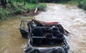 Хотел удивить: на Кубани при переправе через реку погибли двое взрослых и ребёнок