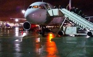 Самолёт Москва-Краснодар развернули из-за угроз
