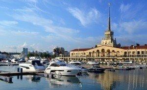 При запуске морского такси в Сочи используют современные технологии