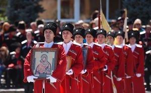 В Краснодаре прошёл парад в честь 30-летия реабилитации казачества