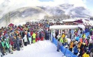 Красная Поляна бьёт рекорды по количеству туристов