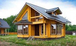 Дома из профилированного бруса: выгодные преимущества