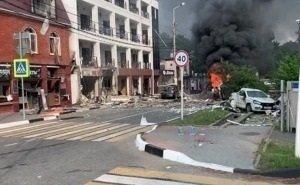 В Геленджике взорвалась гостиница. Есть жертвы