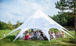 Особенности аренды шатра для мероприятия