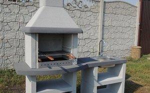 Специфика бетонных барбекю и мангалов