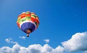 В Чёрное море упал воздушный шар с людьми