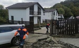 Из-за дождей в Сочи «поехали» 20 жилых домов