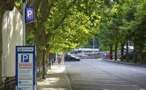 В Сочи реализуют пилотный проект по организации парковок