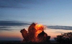 На Кубани при взрыве бомбы ВОВ разрушили дома
