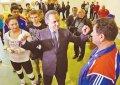 Визит министра спорта в Горячий Ключ
